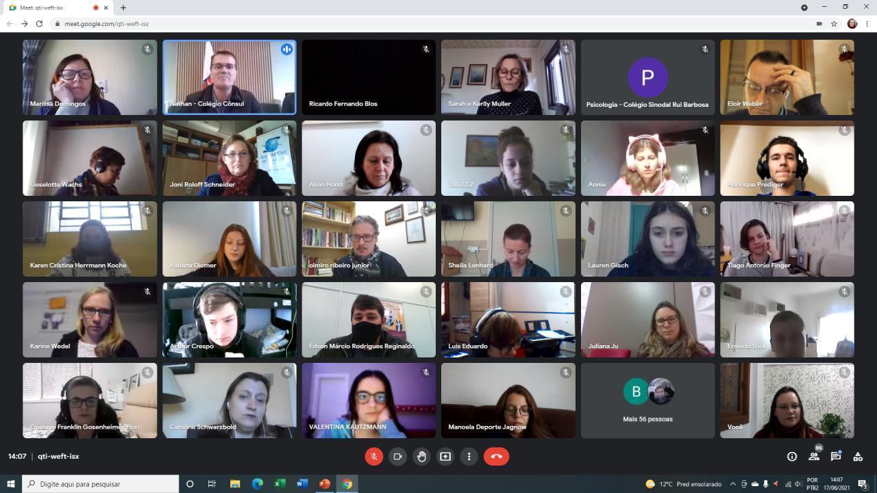 Alunas da IENH participam do 27º Encontro de Liderança Jovem da Rede Sinodal