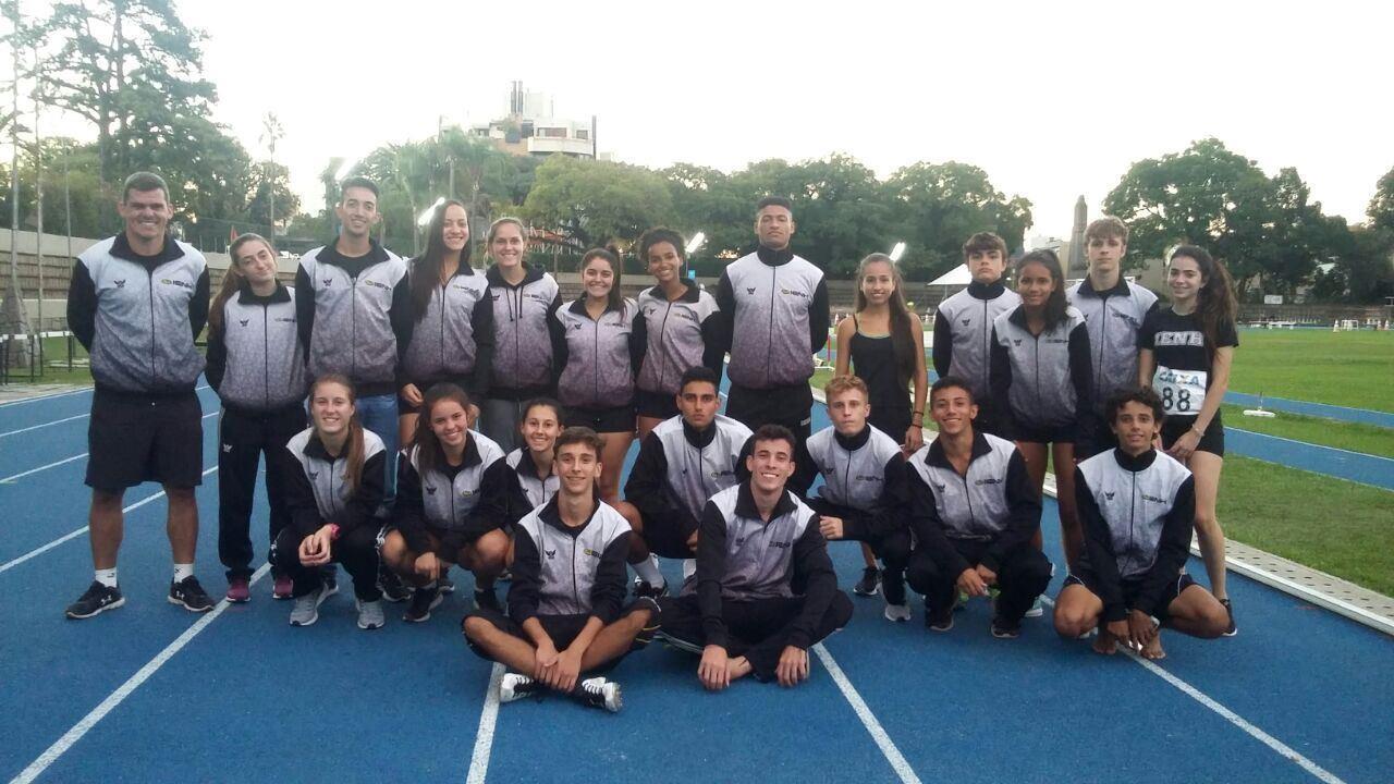 Atletismo da IENH conquista 27 medalhas no Campeonato Estadual sub-20