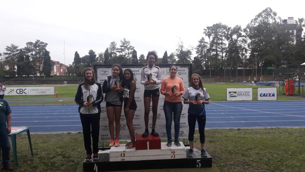 Atletismo da IENH é vice-campeão estadual sub-18