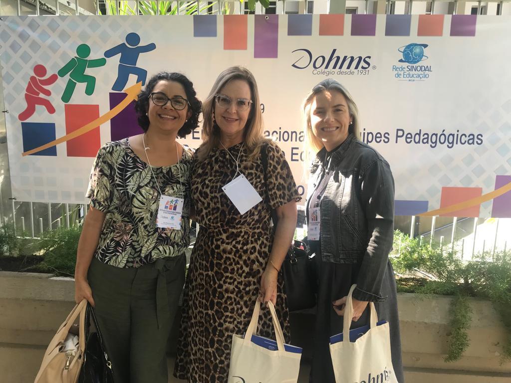 Coordenadoras Pedagógicas da IENH participam de encontro da Rede Sinodal