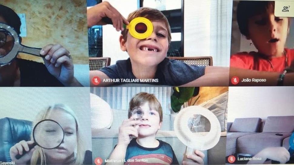 Crianças da Educação Infantil da IENH realizam projeto de estudos sobre a imaginação