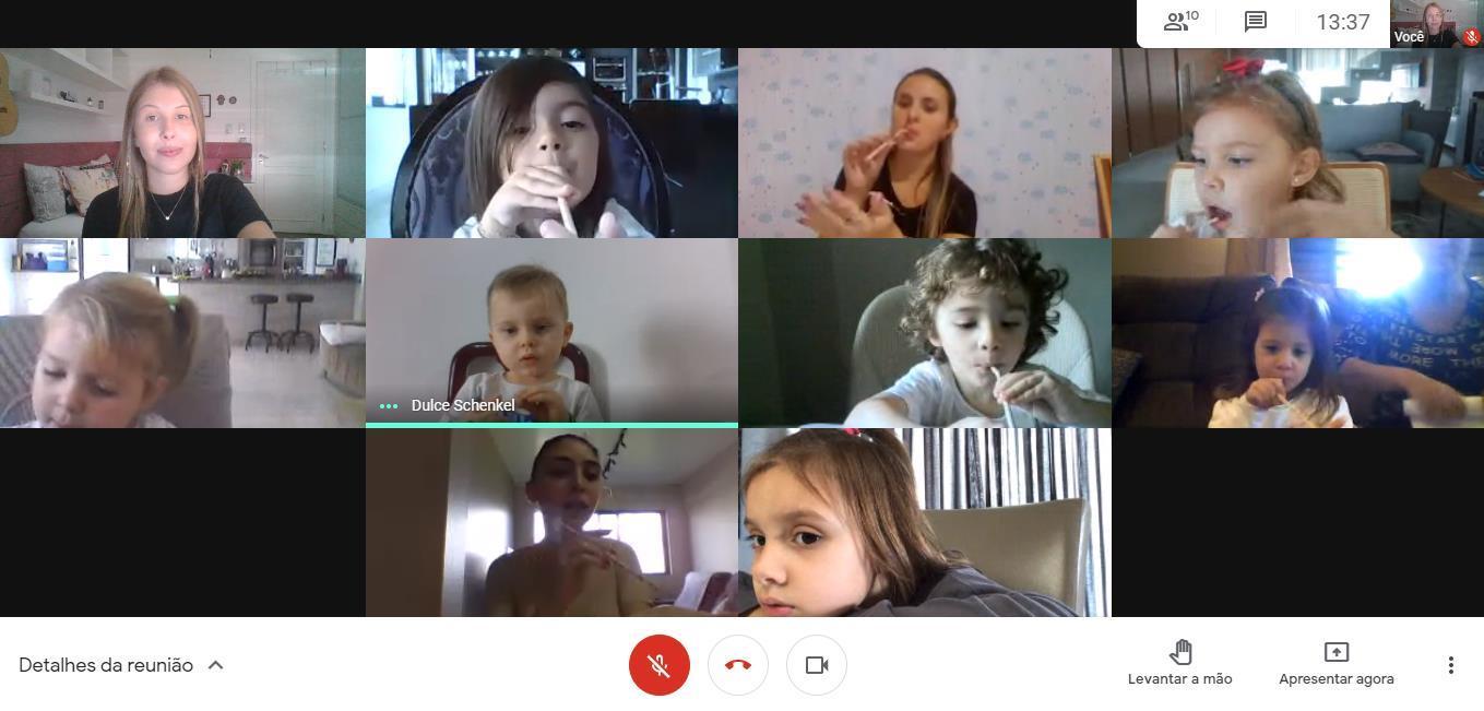Educação Infantil da IENH tem semana de experiências sobre o ar