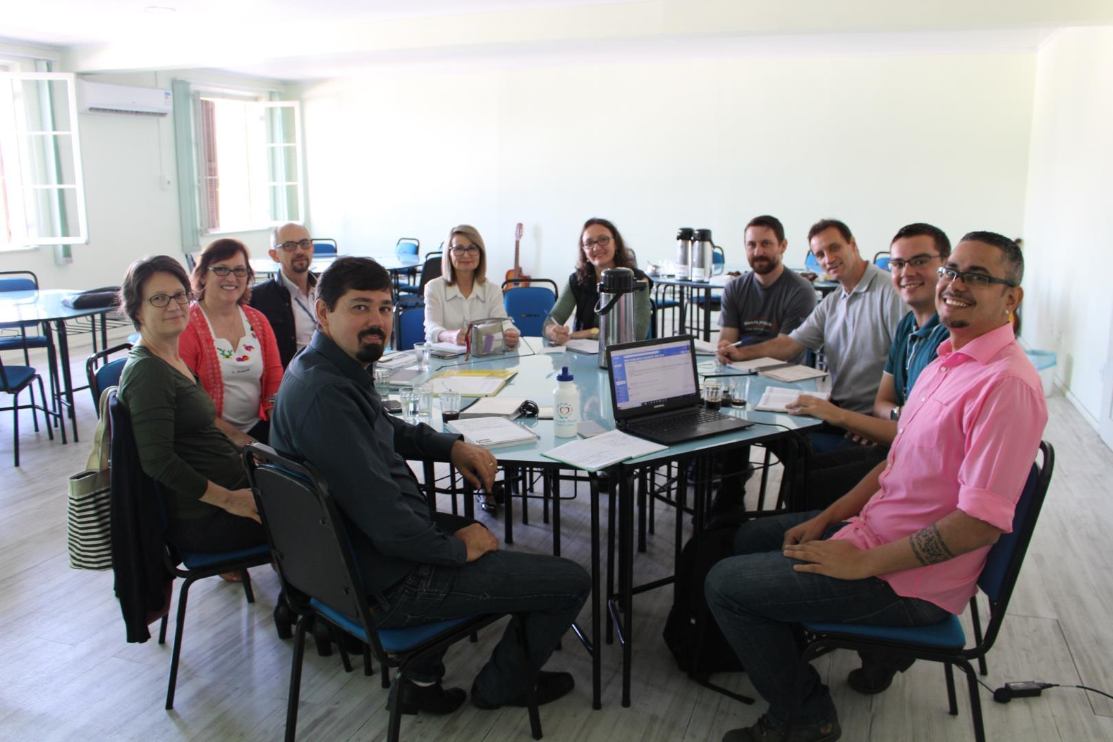 IENH sedia reunião do GT Educação Para Solidariedade