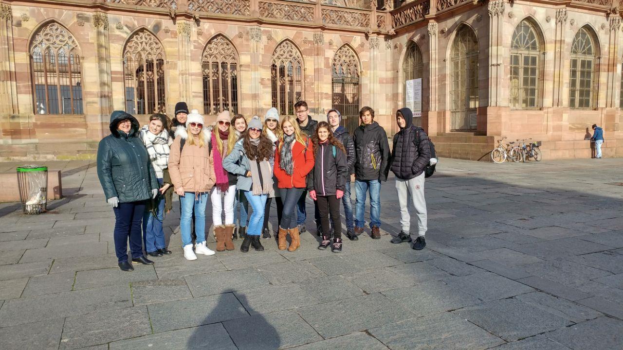 Intercâmbio na Alemanha: estudantes da IENH participam de aulas de idioma e passeios turísticos