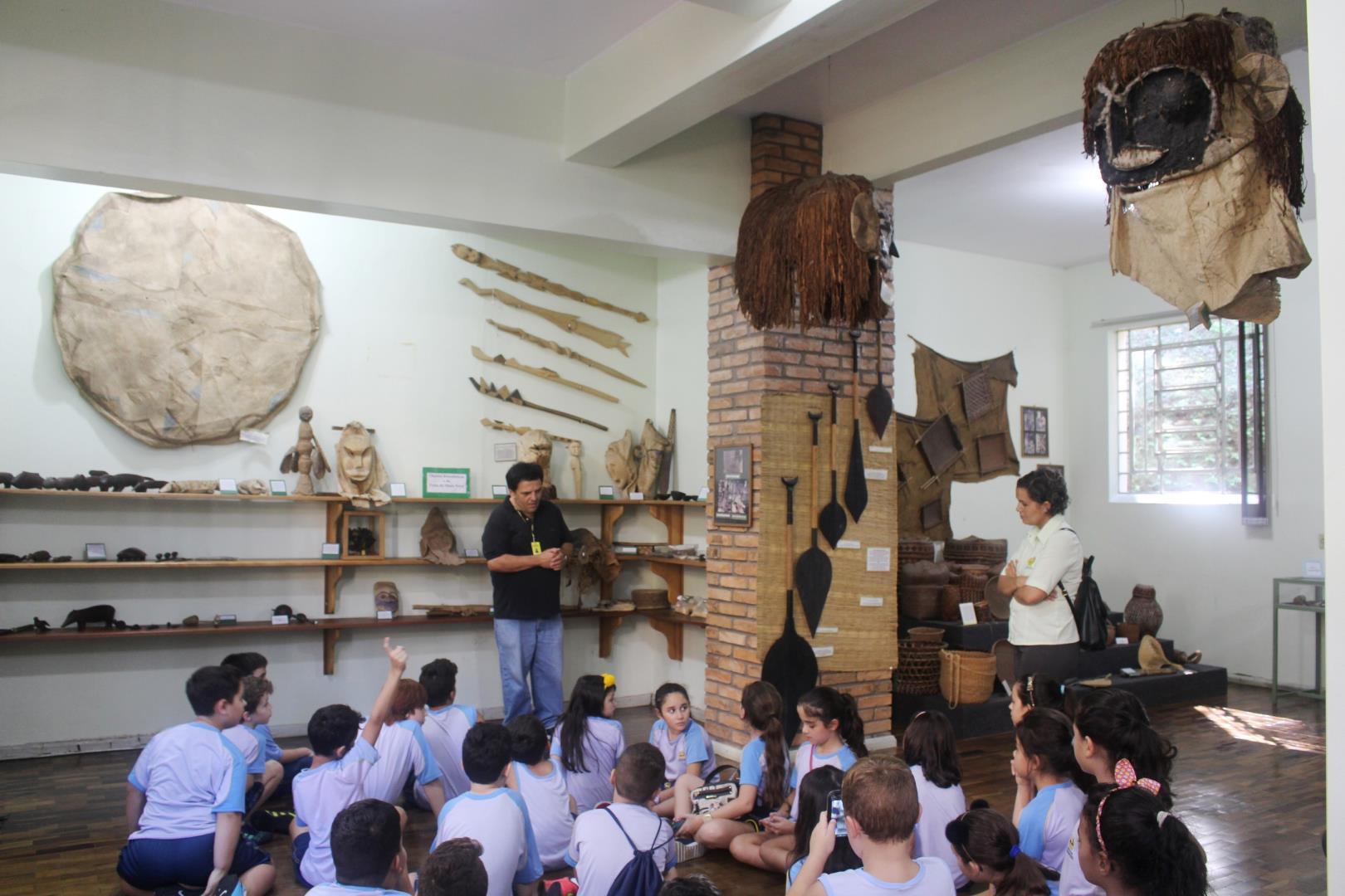 Museu do Índio Tükuna recebe visitas na Fundação Evangélica