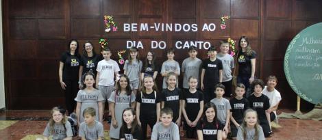 Alunos da IENH participam do 28º Dia do Canto da Rede Sinodal