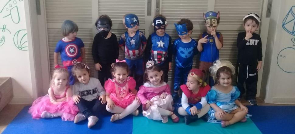 Alunos dos Níveis 2 da Educação Infantil participam de atividades especiais na Semana da Criança