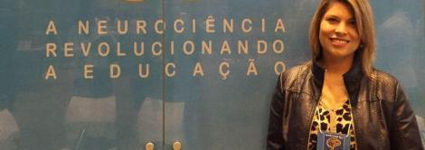 Assessora do Currículo Bilíngue participa de Congresso de Neurociências e Educação em São Paulo