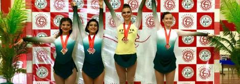 Atleta da IENH conquista medalha de ouro em competição