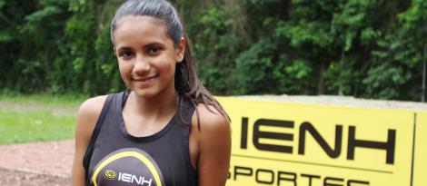 Atleta da IENH é convocada para a Seleção Brasileira de Atletismo