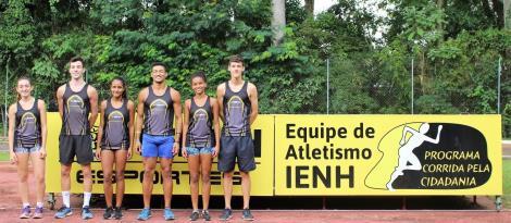 Atletas da IENH participam do GP Sul-americano de Atletismo