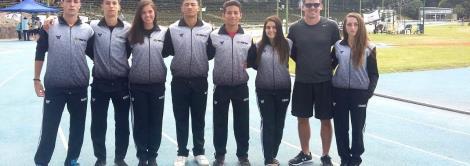Atletismo da IENH conquista medalhas de ouro e bronze no GP Sul Americano no Uruguai