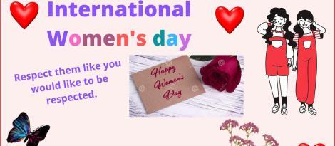 Cartazes inspirados pelo Dia Internacional da Mulher são produzidos por alunos da IENH