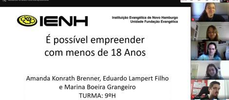 Cento e vinte projetos de pesquisa foram apresentados nas bancas de Iniciação Científica da IENH