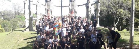 Conhecendo Novo Hamburgo: alunos participam de City Tour e palestra