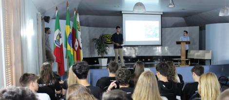 Construção sustentável é tema de palestra em inglês na IENH