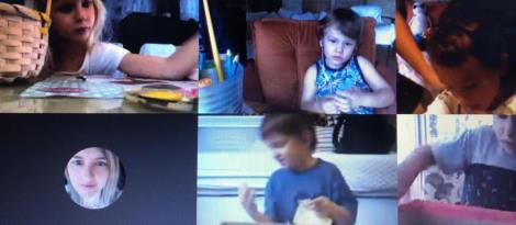 Crianças da Educação Infantil da IENH realizaram série de atividades a partir de histórias
