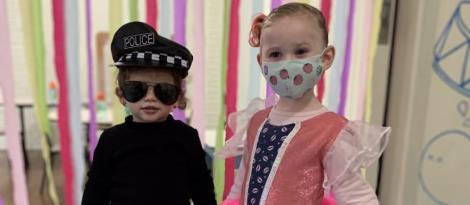Crianças do Nível 2A da Unidade Pindorama se divertem na Semana Especial
