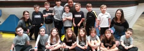 Crianças do Nível 5C da Educação Infantil realizam passeio de estudo ao Museu da PUC