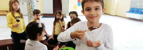 Easter Lollipop na Cooking Class do 2º ano