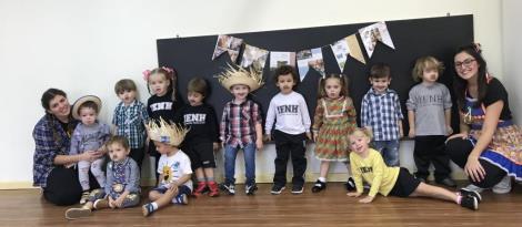 Educação Infantil da Unidade Pindorama realiza festa de São João