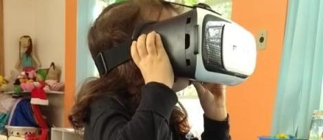 Educação Infantil utiliza óculos de realidade virtual para observação de floresta
