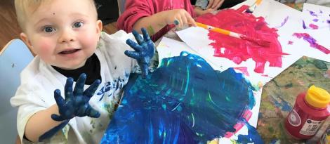 Educação Infantil vivencia semana de adaptação na Unidade Pindorama