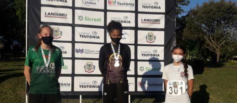 Equipe de Atletismo da IENH conquista medalhas no Troféu Teutônia