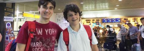 Estudantes da IENH embarcam para Europa