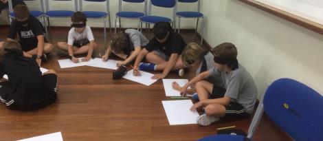 Estudantes da Unidade Pindorama participam de aula de boas-vindas