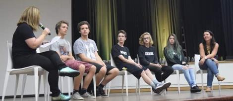 Estudantes debatem curtas-metragens e recebem premiações no São Léo em Cine