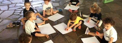 Explorando os pequenos detalhes da escola no período de adaptação da Educação Infantil