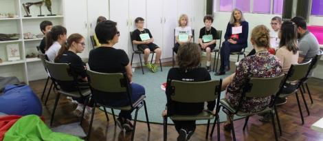 Grupo Cultura de Paz participa de atividade sobre justiça restaurativa
