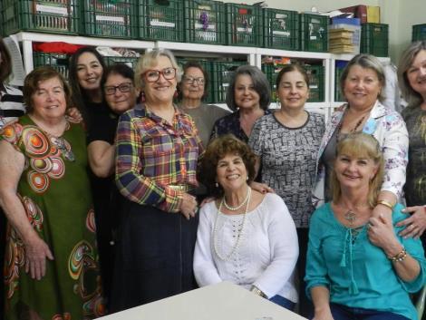 Grupo de Mulheres Voluntárias ELLOS festeja mais um ano de atividades