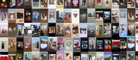 Happy Heart Hunt - Ação para espalhar mensagens de amor é promovida por alunos da IENH