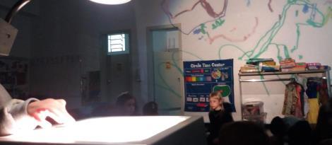 História coletiva é criada a partir de imagens na Educação Infantil da IENH