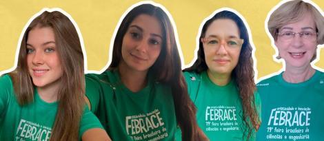 IENH na FEBRACE: Caroline Trierweiller e Giovana dos Santos participam da mostra virtual de projetos