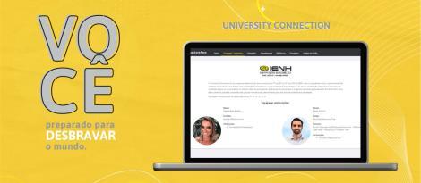 IENH oferece programa University Connection para auxiliar alunos que pretendem estudar no exterior