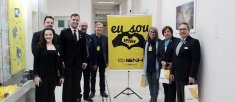 IENH recebe visita do Governador Distrital do Rotary Internacional