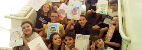 Língua Inglesa e Artes: alunos criam autorretratos baseados na obra do americano Nate Williams