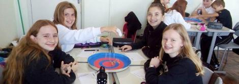 Matemática com atividades lúdicas na Fundação Evangélica