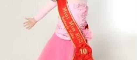 Aluna da Unidade Pindorama eleita Mini Miss