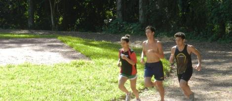 Equipe de Atletismo realiza treinos mesmo nas Férias