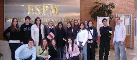 Alunos das 3ªs séries do Ensino Médio visitam a ESPM