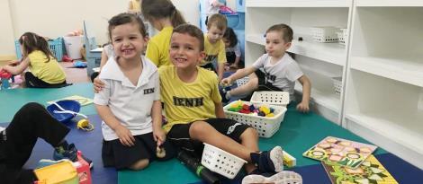 Níveis 2 vivenciam semana de atividades especiais em comemoração ao Dia da Criança
