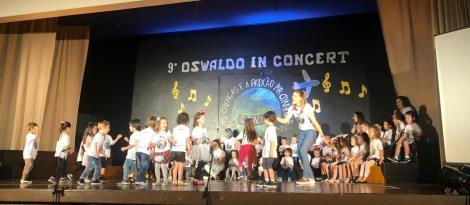 OC in Concert inicia com apresentações dos Níveis 2 e 3 da Educação Infantil