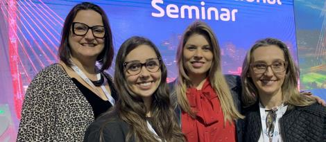 Professoras da IENH participam do Sphere International Seminar