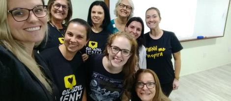 Professores da IENH participam de capacitação de aprendizagem digital sobre ferramentas de texto