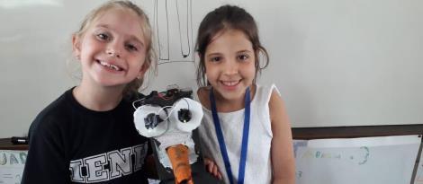 Projeto de estudo encerra com atividade de robótica