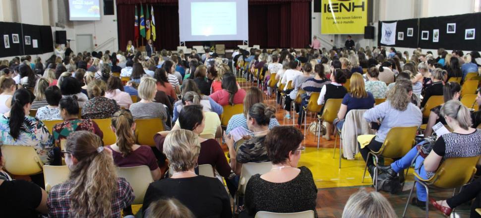 Simpósio Brasileiro de Educação Infantil reúne 560 participantes na IENH